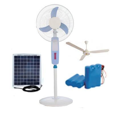 Floor Standing Fan Ceiling Wall Mounted 12v Dc Rechargeable Solar Fan Solar Air Conditioner Solar Fan Supplier Supergreen Tech Co Ltd