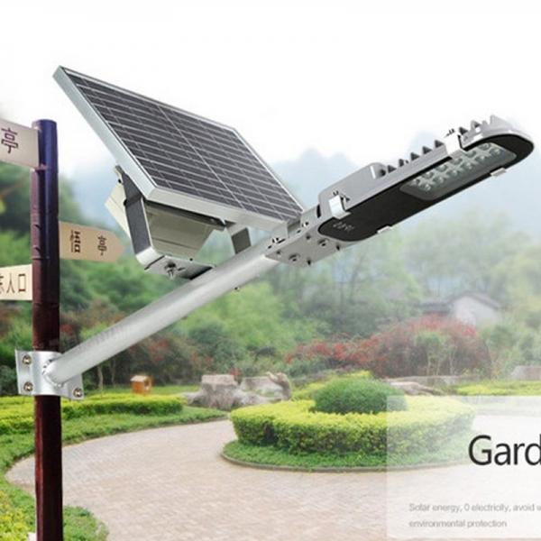 Solar Panel Angle: Semi-integrated Solar Street Light With Adjustable Solar